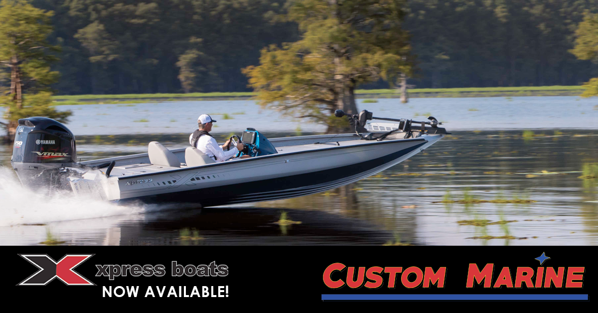 Custom Marine adds XPRESS Boats to inventory line-up