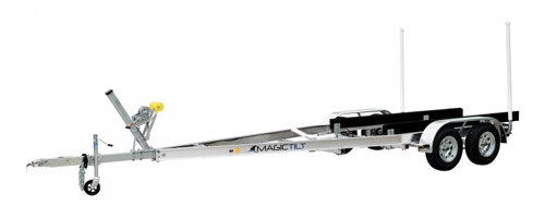 20' tandem axle boat trailer