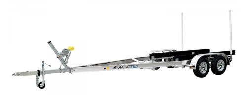 24' tandem axle boat trailer