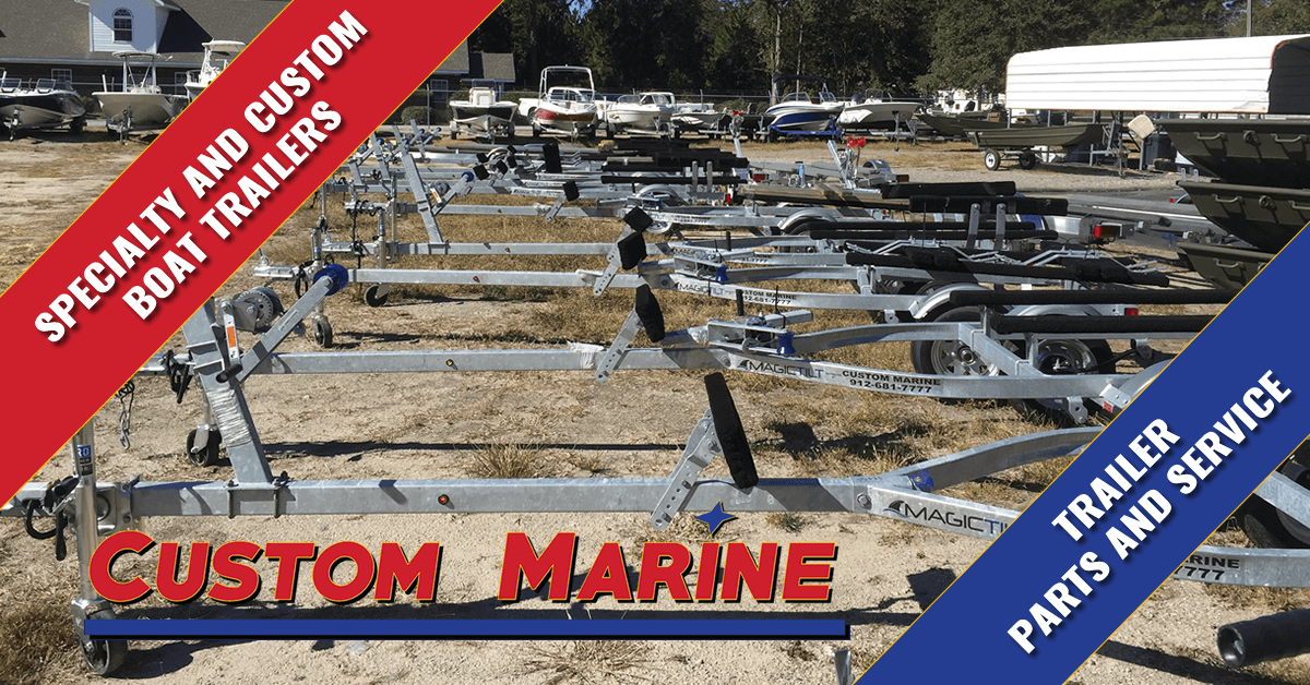 Boat Trailers | Trailer Parts & Service | Custom Marine