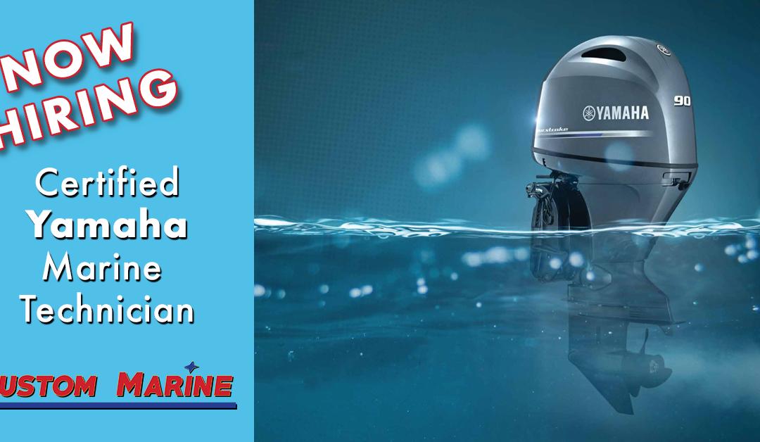 Certified Yamaha Technician | Custom Marine