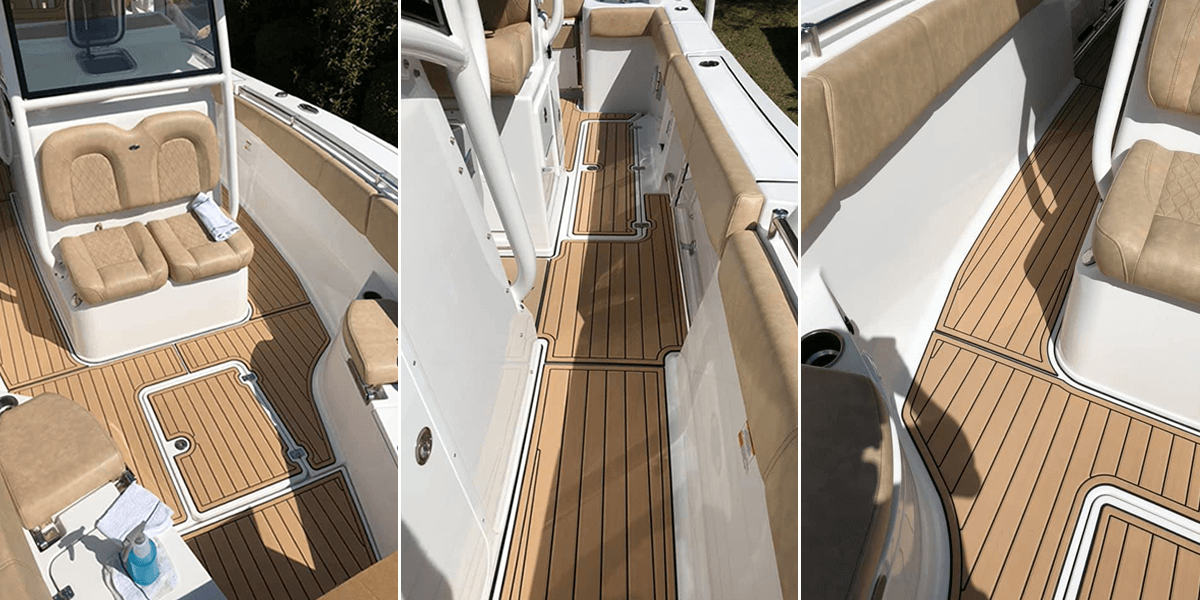 The Next Evolution Of Decking Is Now Available At Custom Marine!