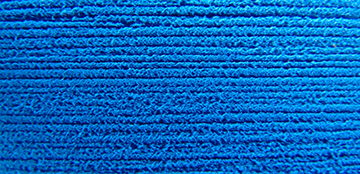 aegean blue  brushed rectangle