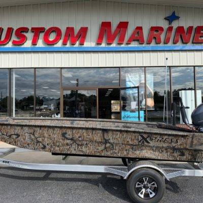 2020 Xpress XTS16/Camo For Sale | Custom Marine | Statesboro Savannah GA Boat Dealer_1