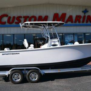 2021 Sportsman Open 242 For Sale | Custom Marine | Statesboro Savannah GA Boat Dealer_1