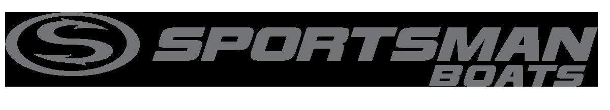 larger sportsman boats logo