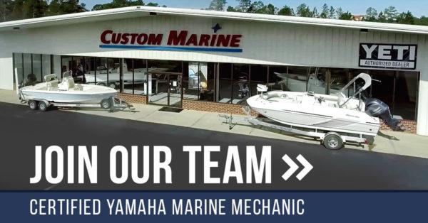 Certified Yamaha Technician   Custom Marine