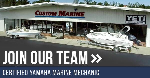 Join Our Team | Certified Yamaha Technician Job Opening | Custom Marine